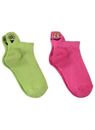 Civil Girls Civil Girls Kız Çocuk 2'li Çorap 2-12 Yaş Füme-Yeşil Civil Girls Kız Çocuk 2'li Çorap 2-12 Yaş Füme-Yeşil Renkli